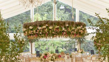 Wedding Floral Ring Decoration