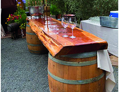 Whisky Barrel Bar