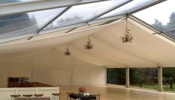 Queensberry Frame Marquee Hire Interior